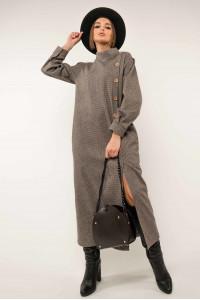 Сукня «Долорес» шоколадного кольору
