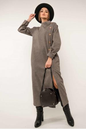 Платье «Долорес» шоколадного цвета