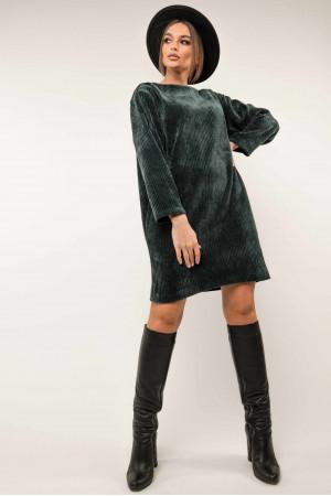 Сукня «Сабіна» темно-синього кольору