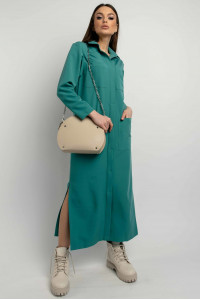 Сукня-сорочка «Альба» кольору бриз