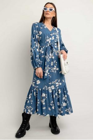 Платье «Глория» синего цвета