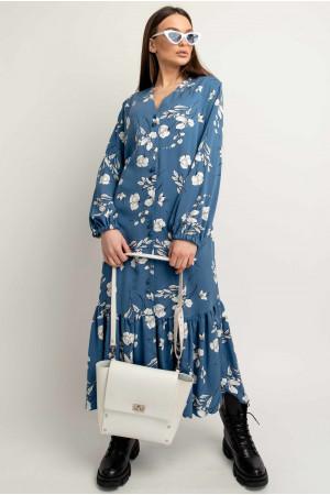 Сукня «Глорія» синього кольору