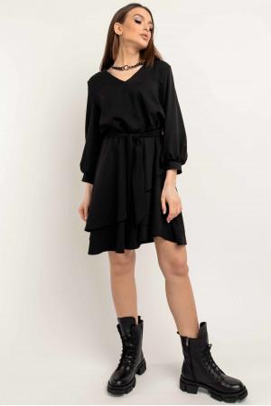 Платье «Алия» черного цвета