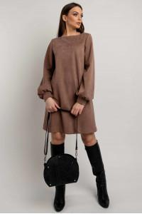 Платье «Регина» цвета капучино