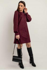 Платье «Регина» цвета марсала