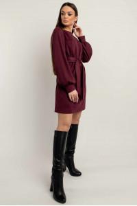 Сукня «Регіна» кольору марсала