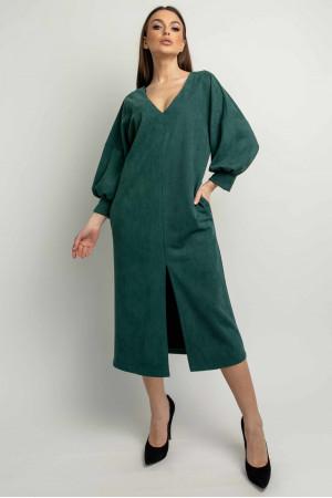 Сукня «Лінда» смарагдового кольору