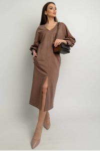 Платье «Линда» цвета капучино