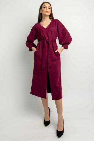 Сукня «Лінда» кольору марсала