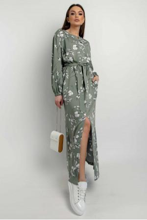 Сукня «Медіна» оливкового кольору