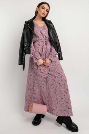 Платье «Лина» сиреневого цвета