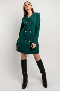 Сукня-піджак «Марго» смарагдового кольору