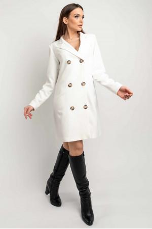 Сукня-піджак «Марго» молочного кольору