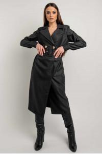 Платье-пиджак «Ирма» черного цвета