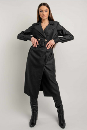 Сукня-піджак «Ірма» чорного кольору