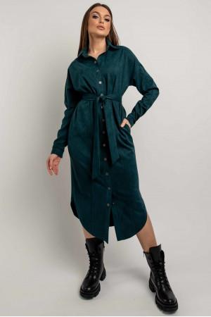 Сукня-сорочка «Кая» кольору бриз