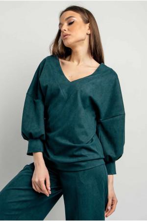Блуза «Тоші» кольору бриз