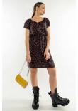 Сукня «Кіра» чорничного кольору