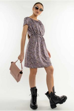 Платье «Кира» лилового цвета