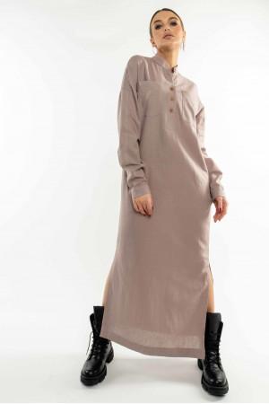 Платье «Олли» лилового цвета