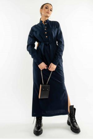 Сукня «Оллі» темно-синього кольору
