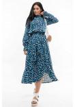 Сукня «Флорет» синьо-білого кольору