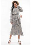 Сукня «Флорет» оливкового кольору