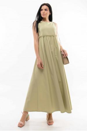 Сукня «Ліліан» фісташкового кольору