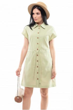 Сукня «Дорін» фісташкового кольору