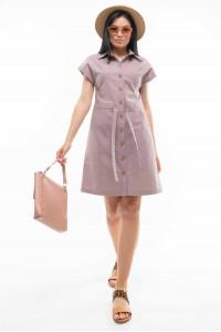 Платье «Дорин» лилового цвета