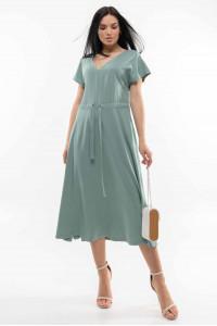 Платье «Джослин» оливкового цвета