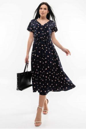 Сукня «Джослін» чорничного кольору