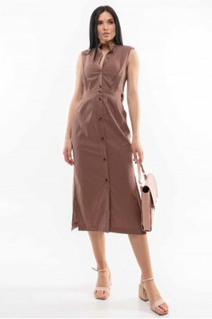 Сукня «Арія» шоколадного кольору
