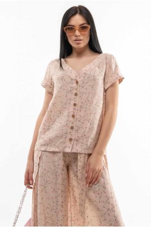 Блуза «Бетті» кольору беж
