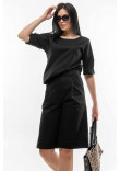 Блуза «Ріплі» чорного кольору