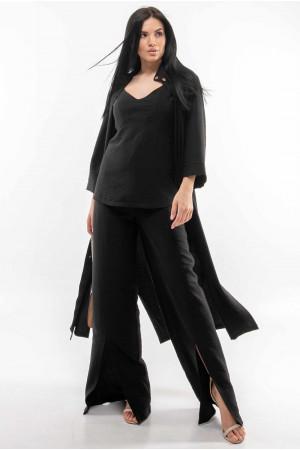 Сорочка «Аларія» чорного кольору