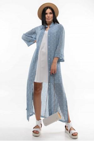 Сорочка «Аларія» блакитного кольору