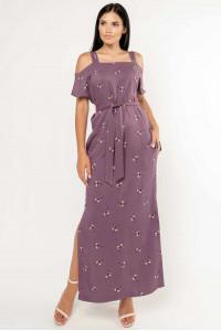 Платье «Летиция» фиолетового цвета
