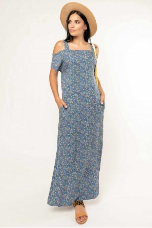 Сукня «Летиція» блакитного кольору