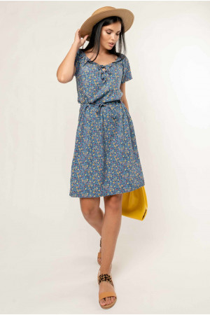 Сукня «Кіра» блакитного кольору
