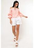 Блуза «Агата» кольору пудри