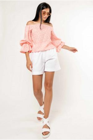 Блуза «Агата» цвета пудры