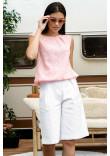 Блуза «Кітті» кольору пудри