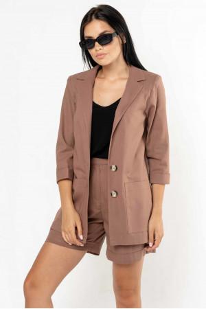 Піджак «Кріспі-льон» шоколадного кольору