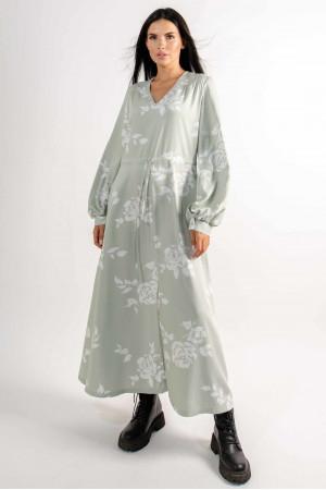 Сукня «Нессі» світло-оливкового кольору