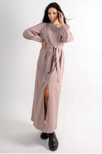 Платье «Медина» бежевого цвета
