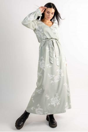 Сукня «Ліна» світло-оливкового кольору