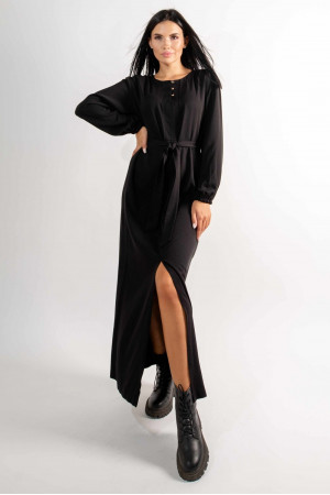 Платье «Медина» черного цвета