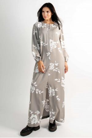 Сукня «Медіна» кольору попелястого хакі