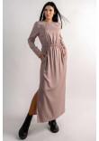 Сукня «Аделія» бежевого кольору